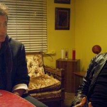 Paul Hipp e Willem Dafoe in una immagine del film di Abel Ferrara 4:44 Last Day on Earth