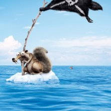 Teaser poster di Ice Age: Continental Drift