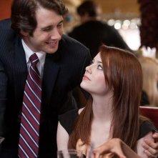 Emma Stone nella commedia Crazy, Stupid Love con Josh Groban