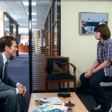 Jonah Bobo con Kevin Bacon in Crazy, Stupid, Love