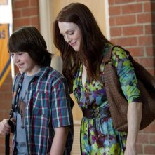 Julianne Moore in Crazy, Stupid, Love con Jonah Bobo