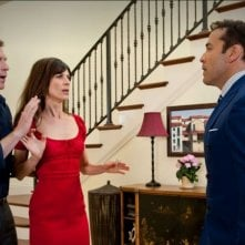 Perrey Reeves, Bobby Flay e Jeremy Piven in una scena dell'episodio The Big Bang dell'ottava stagione di Entourage
