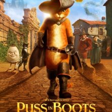 Puss in Boots: Nuovo poster USA
