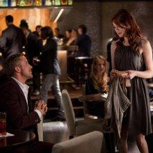 Ryan Gosling con Emma Stone nella commedia Crazy, Stupid Love (2011)