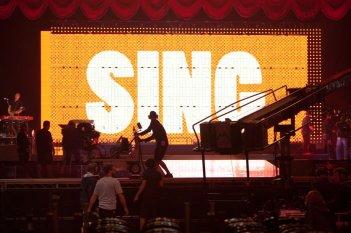 Glee: The 3D Concert Movie - una immagine del tour nordamericano dei ragazzi della serie
