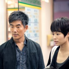 Richie Ren e Myolie Wu nel film Life Without Principle, di Johnny To