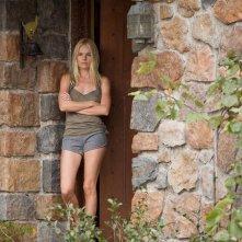 Cani di paglia: Kate Bosworth in una sequenza del thriller