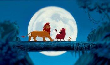 Il Re Leone: una romantica scena del film