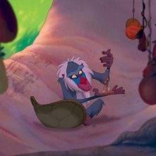 Il Re Leone:una scena del film Disney