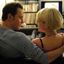 Michael Fassbender e Carey Mulligan in una immagine del film Shame