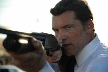 Sam Worthington in una sequenza di Texas Killing Fields
