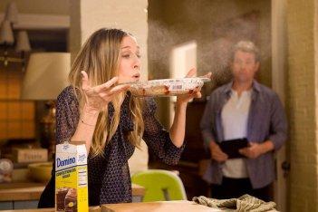 Sarah Jessica Parker in Ma come fa a far tutto? alle prese dolci e zucchero a velo