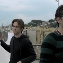 Italy: Love It, or Leave It : Luca Ragazzi e Gustav Hofer in una immagine del loro documentario on the road