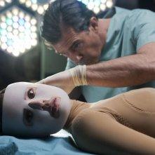 Antonio Banderas ed Elena Anaya in una immagine di La pelle che abito