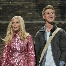Ashley Tisdale ed Austin Butler in una scena di Sharpay's Fabulous Adventure