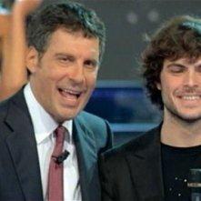 Miss Italia 2011: Guglielmo Scilla con Fabrizio Frizzi