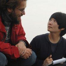 Io sono Li - Andrea Segre con Zhao Tao sul set del film