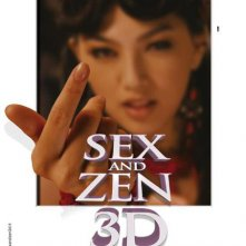 La locandina italiana di Sex and Zen 3D