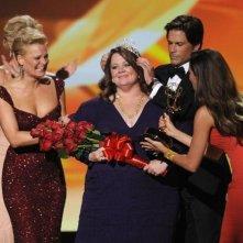 Melissa McCarthy premiata con l'Emmy per il suo ruolo in Mike and Molly