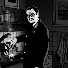 Un'immagine dal film Alois Nebel (2011)