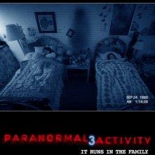 Nuova locandina di Paranormal Activity 3