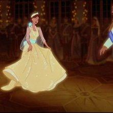 Una scena del film d'animazione Anastasia del 1997
