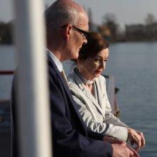 Hans-Michael Rehberg e Ingrid Andree in Transfer