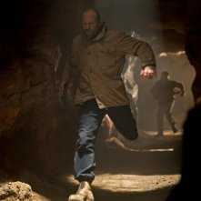 Jason Statham in una sequenza di Killer Elite