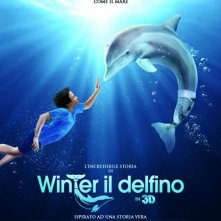 L'incredibile storia di Winter il delfino: locandina italiana