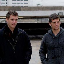 Mark e Adam Kassen sul set di Puncture