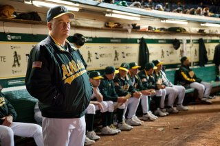 Philip Seymour Hoffman in Moneyball, del 2011