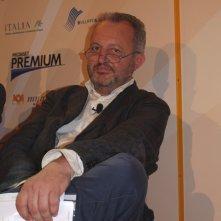 Una foto di Steve Della Casa durante il Roma Fiction Fest 2010