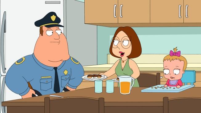 Meg E Joe Swanson In Una Scena Di The Hand That Rocks The Wheelchair De I Griffin 215923