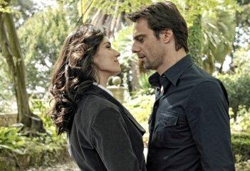 Alessandro Preziosi ed Anna Valle nella serie Un amore e una vendetta
