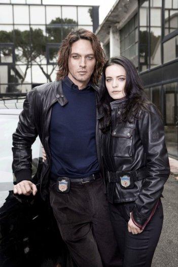 Gabriel Garko e Cosima Coppola nella fiction Viso d'angelo