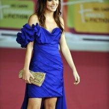 Isabella Orsini sfila sul red carpet al Roma Fiction Fest 2011