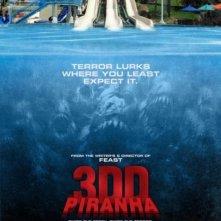La locandina di Piranha 3DD