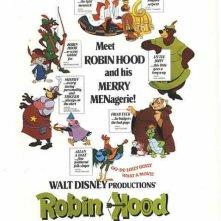 Robin Hood: Locandina del film d'animazione