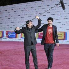Alessandro Gassman ed Enrico Brignano protagonisti di Un Natale per due al RomaFictionFest 2011