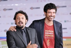 Enrico Brignano e Alessandro Gassman: due uomini e una Jaguar