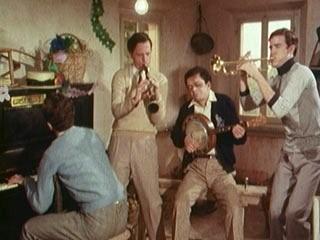 Jazz Band, una scena del tilm tv di Pupi Avati