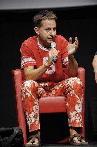 Daniele Cesarano durante la masterclass Adaptation al Roma Fiction Fest 2011