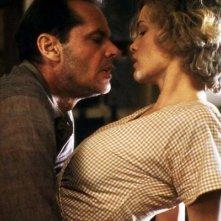 Jessica Lange con Jack Nicholson in Il postino suona sempre due volte