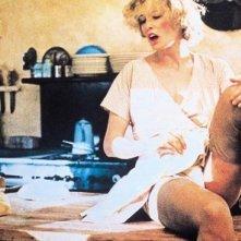 Jessica Lange in una scena calda de Il postino suona sempre due volte