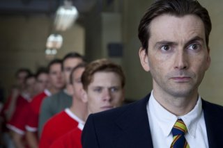 United: David Tennant in una scena del film TV