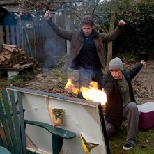 50/50: Seth Rogen e Joseph Gordon-Levitt in una sequenza 'di fuoco'