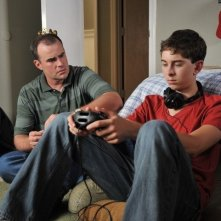 Courageous: Alex Kendrick e Rusty Martin in una scena del film