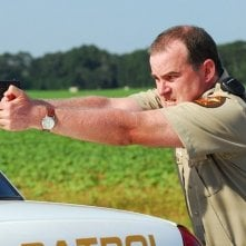 Courageous: Alex Kendrick in una scena del film