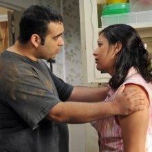 Courageous: Robert Amaya e Angelita Nelson in una scena del film