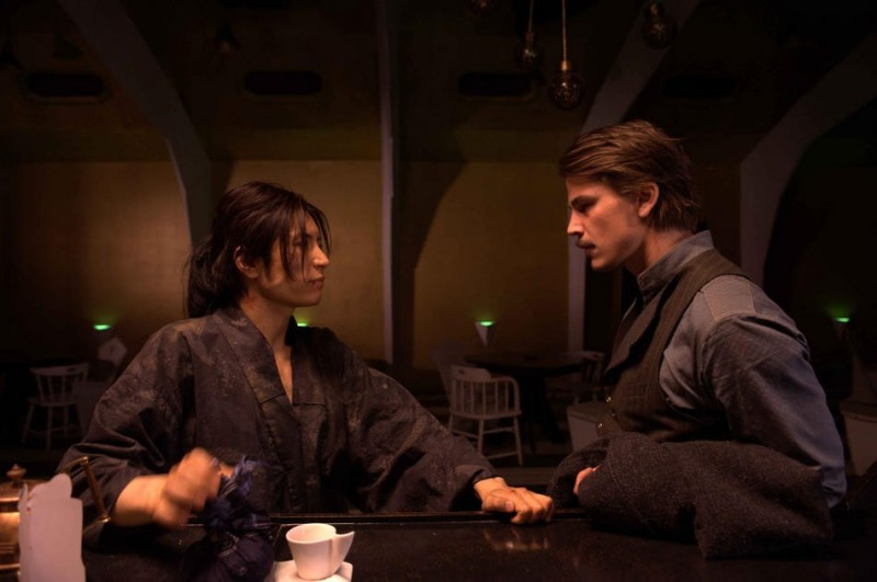 Gackt E Josh Hartnett In Una Scena Del Film Bunraku 216617